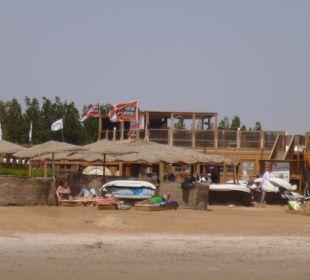 Kitestation neben dem Hotelstrand (KiBC)