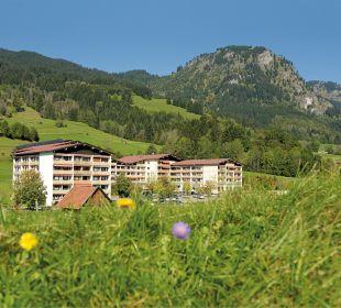 Außenansicht Die Gams Hotel - Resort