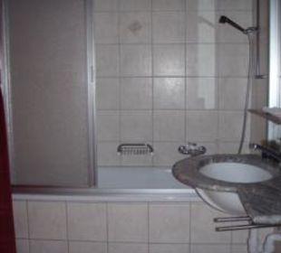 La Gorge Badezimmer Beispiel Hotel-Apart La Gorge