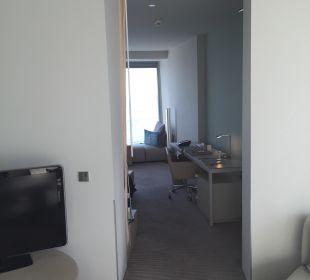 Wohnzimmer Corner Suite W Barcelona Hotel