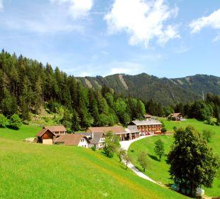 Anwesen der Familie Lausegger BergPension Lausegger