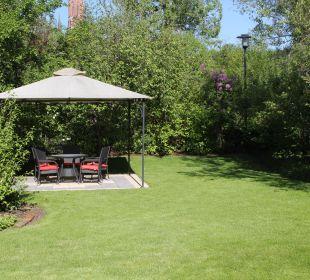 Pavillon zum Verweilen Ferienwohnungen & Pension Domicil am Stadtpark