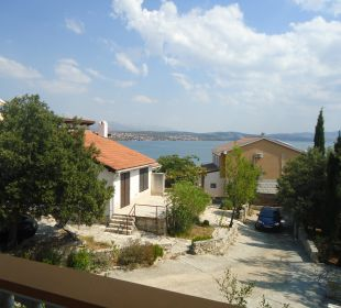 Ausblick vom Balkon Villa Pavlinka