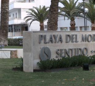 Eingangsbereich SENTIDO Playa del Moro