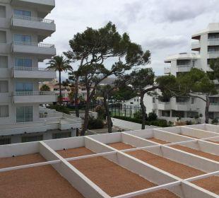 Balkonblick 2. Stock Hotel Playa Esperanza