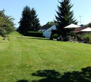Sehr schöne große Gartenanlage Landhotel Brandlhof