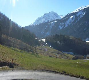 Der Weg zur Talstation Am Holand
