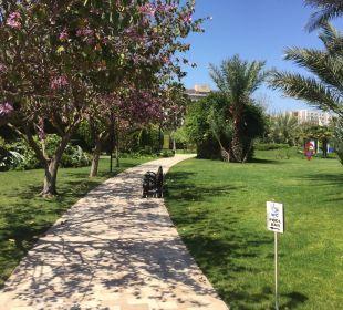 Wunderschöner Garten Hotel Concorde De Luxe Resort