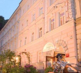 Aussenansicht Altstadthotel und Residenz Wolf-Dietrich