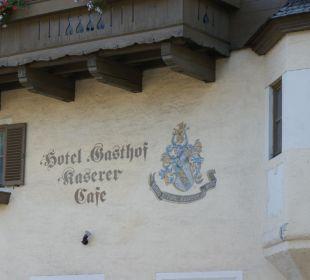 Fassade Hotel Kaserer Landhotel Kaserer