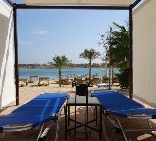 Blick auf die Bucht Hotel Steigenberger Coraya Beach