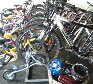 Wieder neue Mountainbikes Gartenhotel Rosenhof