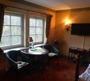Sehr geschmackvolles Zimmer Hotel Forsthaus Damerow