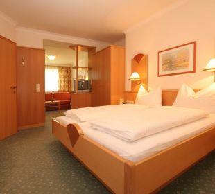 Eines unserer Zimmer Hotel Alpenrose