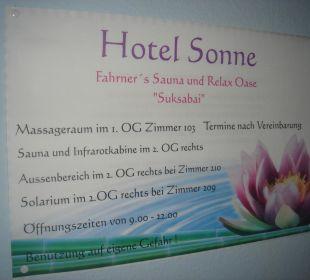Entspannung Hotel Sonne