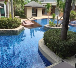 Blick aus unserem Zimmer La Flora Resort & Spa
