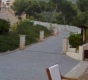Weg zu den Blöcken 2 und 3 Hotel Don Antonio