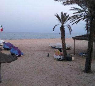 Strand am Abend Hotel Samira Club