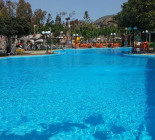 Der wunderschöne Pool Hotel Corissia Beach