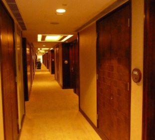 Flur 12.Stock Hotel Langham Place
