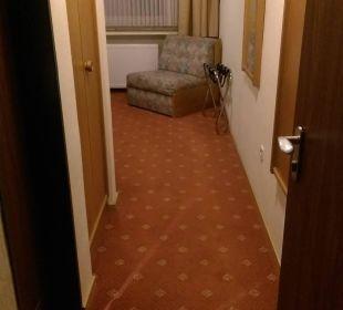Zimmereingang Einzelzimmer Hotel Schmidt-Mönnikes
