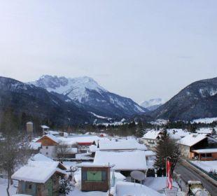 Blick vom Balkon Mair's Landgasthof