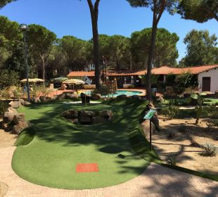 Minigolfanlage Tirreno Resort
