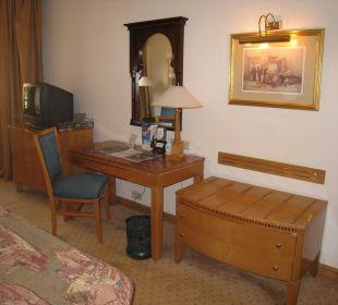 Schreibtisch Steigenberger Hotel Nile Palace