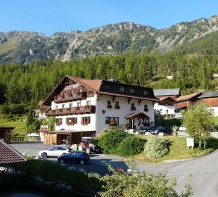 Haus Nordseite Alpengasthof Köfels