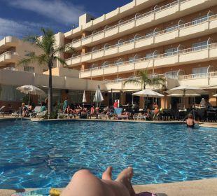 Poolanlage Hotel JS Alcudi Mar