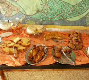 Frühstücksbuffet Teilansicht Hotel Porto da Lua