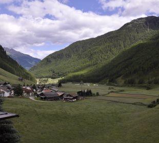 Uitzicht van op het balcon Tonzhaus Hotel & Restaurant