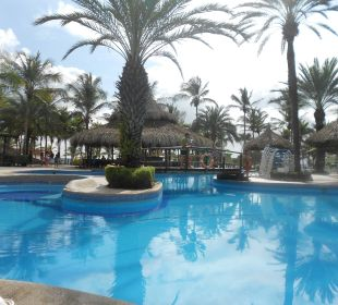Pool with bar Hotel Isla Caribe Beach