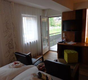 Schöne und grosszügige Zimmer Hotel Feldhof