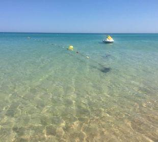 Strand im sauber  Hotel Samira Club