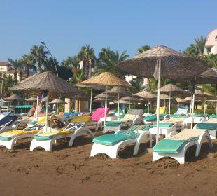Hotel Aqua dedicated beach area Hotel Aqua