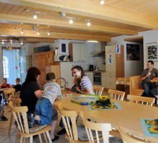 Der Gemeinschaftsraum Ferienhof Eulennest
