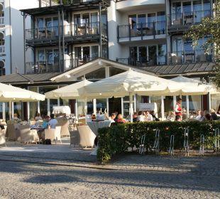 Frühstück in der Sonne Grand Hotel Binz by Private Palace Hotels & Resorts