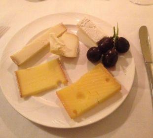 Beispiel Käsedessert vom Buffet Sunstar Alpine Hotel Flims