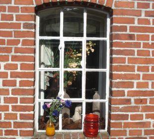 Fenster der Tenne Landgasthof Hengstforder Mühle