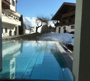 Außenpool Hotel Krallerhof
