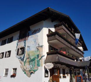 Außenansicht Hotel Zugspitze