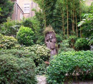 Gepflegter Garten K+K Hotel George