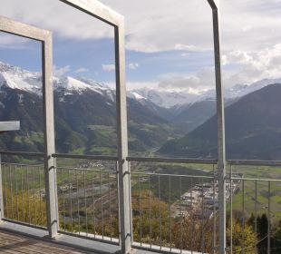 Ausblick von der Dachterrasse Pension Mairhof