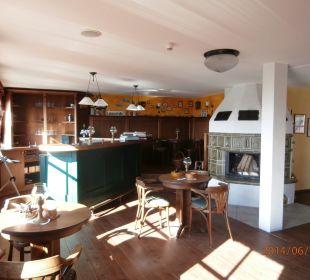 Kaminzimmer mit Bar Hotel Nussbaumhof