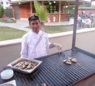 Fisch vom Grill The One Club Hotel