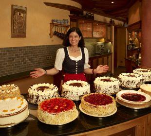 Unser hausgemachter Kuchen Berghotel Mummelsee