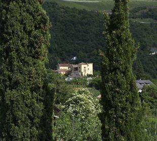 Ausblick Botanischer Garten Trauttmansdorff Hotel Ladurner