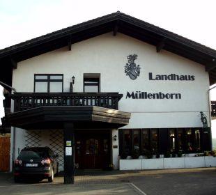 Hoteleingang Landhaus Müllenborn