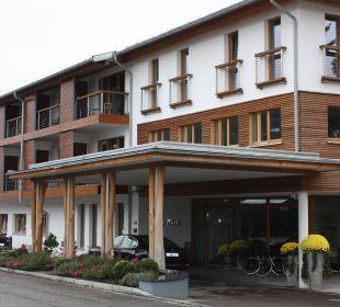Eingangsbereich Hotel Exquisit